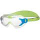 speedo Biofuse Sea Squad Okulary pływackie Dzieci zielony/przezroczysty